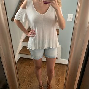 Free people white top